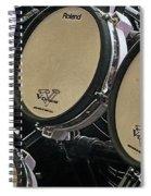 Drums Spiral Notebook