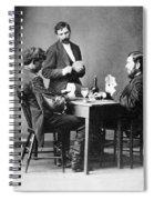 Drunkard's Progress, C1874 Spiral Notebook