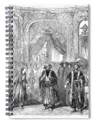 Drury Lane Theatre, 1854 Spiral Notebook