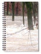 Dry Creek-but Swift Waters Spiral Notebook