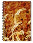 Dry Grass Spiral Notebook