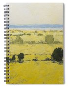 Dry Grass Spiral Notebook
