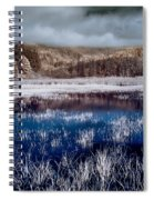 Dry Lagoon Blues Spiral Notebook