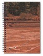 Dry Reservoir  Spiral Notebook