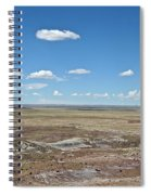 Dry Riverbed Spiral Notebook