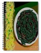 Dry Sauteed Stringbeans Spiral Notebook