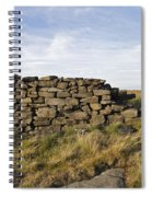 Dry Stone Wall Spiral Notebook