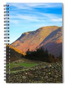 Dry Stone Walls In Patterdale In The Lake District Spiral Notebook
