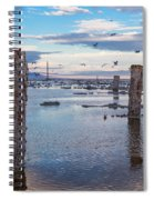 Drying Dock Spiral Notebook