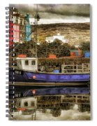 Tobermory Isle Of Mull Spiral Notebook