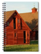 Dual Barns-3811 Spiral Notebook
