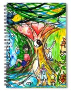 Dual Nature Spiral Notebook