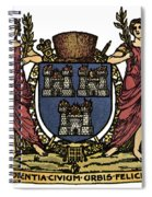 Dublin Coat Of Arms Spiral Notebook