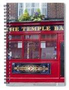 Dublin Ireland - The Temple Bar Spiral Notebook