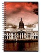 Dublin - The Custom House Spiral Notebook