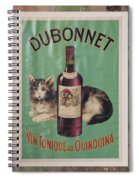 Dubonnet Wine Tonic Dsc05585 Spiral Notebook