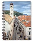 Dubrovnik Spiral Notebook