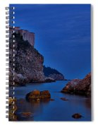 Dubrovnik Bay Spiral Notebook
