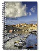 Dubrovnik Harbor Spiral Notebook