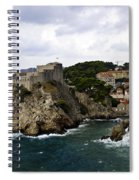 Dubrovnik In Focus Spiral Notebook