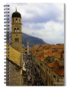 Dubrovnik - Old City Spiral Notebook