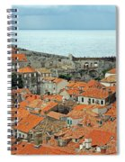 Dubrovnik Rooftops And Walls Spiral Notebook