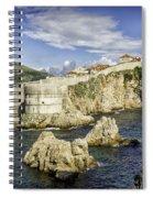Dubrovnik Walled City Spiral Notebook