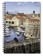 Dubrovnik Walls Spiral Notebook