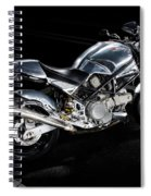 Ducati Monster Cafe Racer Spiral Notebook