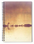 Duck Family Spiral Notebook