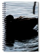 Duck Waves Spiral Notebook