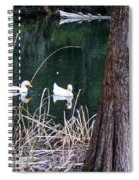 Ducks And Turtles Spiral Notebook