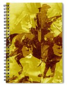 Duel In The Saddle 1 Spiral Notebook