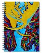 Duelling Moose Spiral Notebook