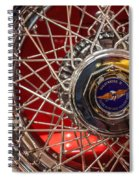 Duesenberg Wheel Spiral Notebook