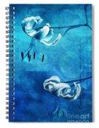 Duet - Blue03 Spiral Notebook