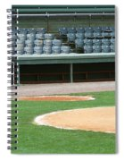 Dugout At The Old Ballpark Spiral Notebook