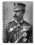 Duke Of Connaught (1850-1942) Spiral Notebook