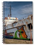 Duke Of Graffiti Spiral Notebook