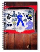 Duke Wayne Western Films Collage Casa Grande Arizona 2012 Spiral Notebook