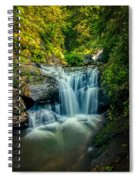 Dukes Creek Falls Spiral Notebook