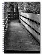 Dukes Creek Falls Walkway Spiral Notebook