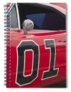 Dukes Of Hazard General Lee Spiral Notebook