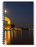 Duluth Aerial Lift Bridge Spiral Notebook