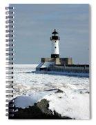 Duluth Harbor Lighthouse Spiral Notebook