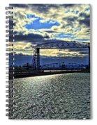 Duluth Lift Bridge Spiral Notebook
