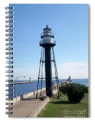 Duluth Mn Lighthouses  Spiral Notebook
