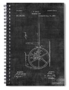 Dumping Cart Patent 011 Spiral Notebook