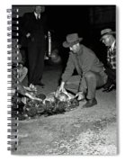 Dumping Whiskey In Mississippi 1951 Spiral Notebook