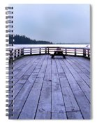 West Vancouver Dundarave Triptych Centre Panel Spiral Notebook